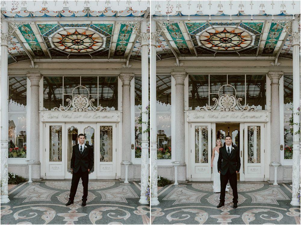 First look  fra sposa e sposo al Grand Hotel Des Iles Borromees, Stresa Lago Maggiore